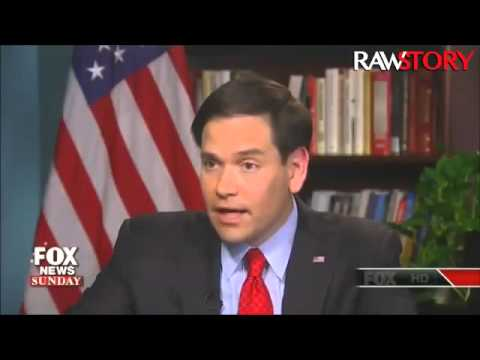 Marco Rubio speaks to Fox News about the Iraq war
