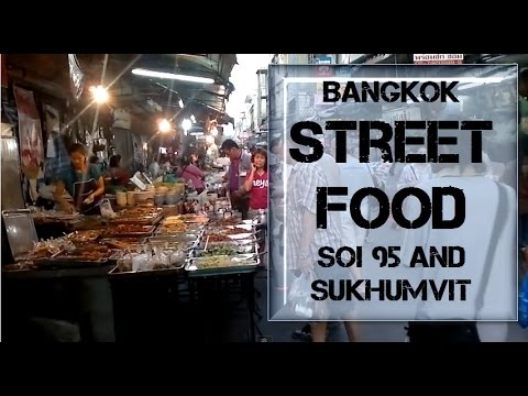 Bangkok Street Food Market at Soi 95 Sukhumvit