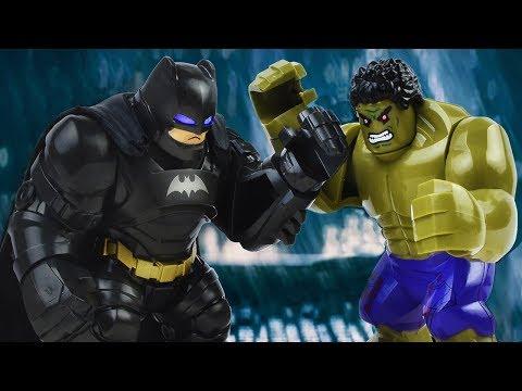 LEGO BATMAN VS HULK | Batman Stop Motion