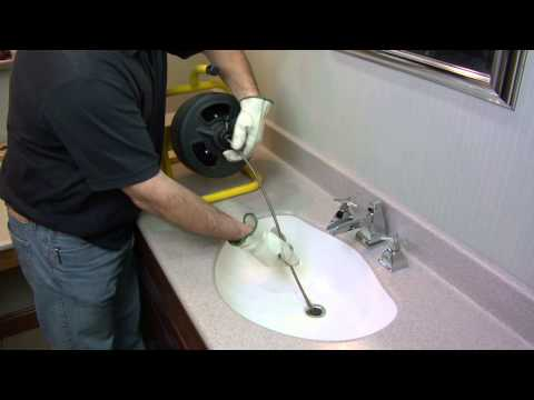How To Unclog a Drain Using a Cobra 20 Series Power Machine