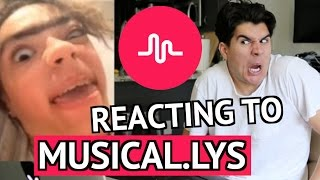 REACTING TO MUSICAL.LYS! 2 (INSANELY CRINGE)