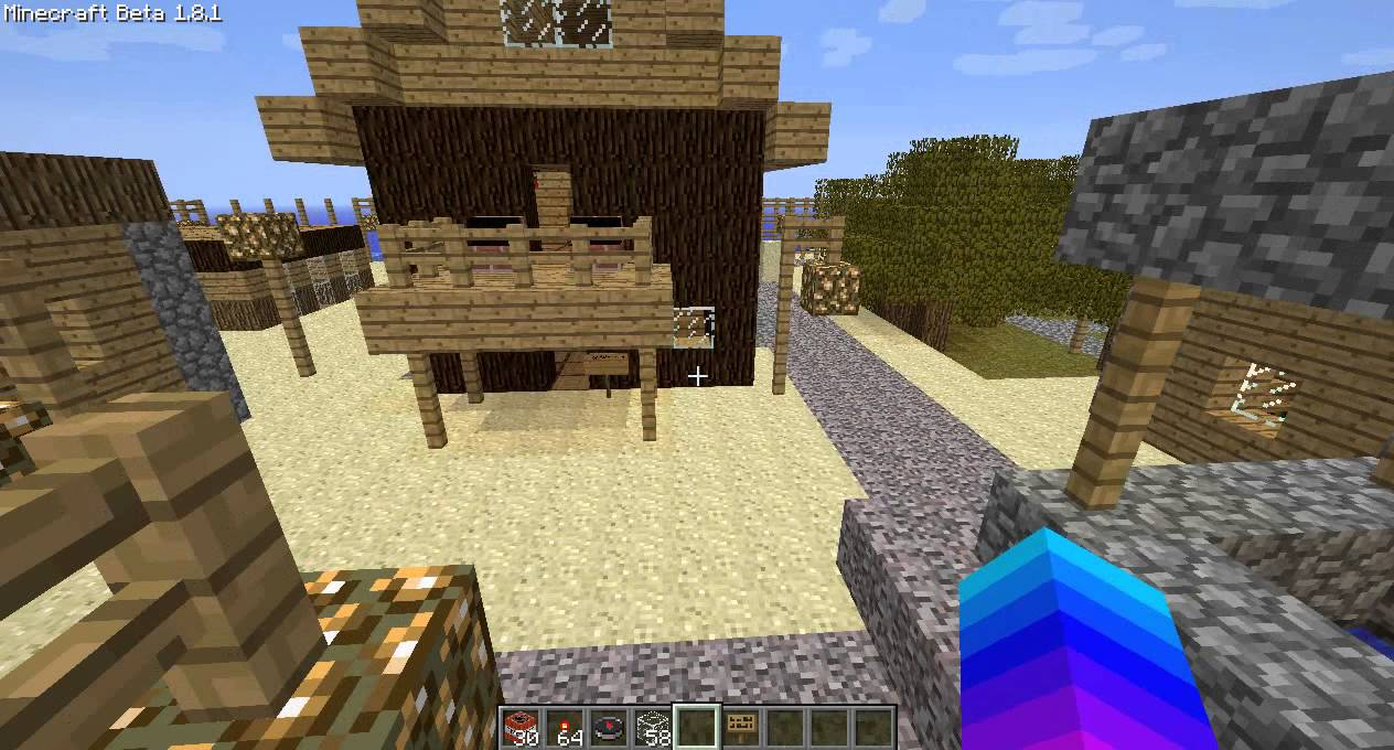 how to make a minecraft beta 1.7.3 server