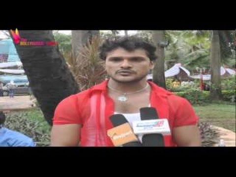 Exclusive Interview With Khesari Lal   Ladla Bhojpuri Movie   On Location