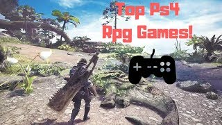 Top PS4 RPG Games! (2018)