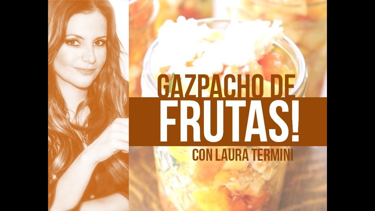 Gazpacho de Fruta Gazpacho de Frutas