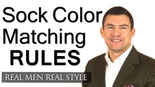 The Rules On Matching Color & Pattern When It Comes To Socks - How To Match Men's Socks