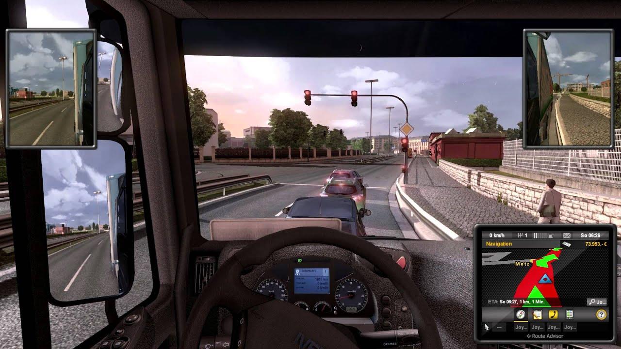 Игра для андроид euro truck simulator