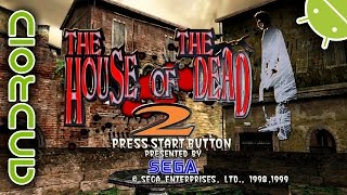 The House of the Dead 2 | NVIDIA SHIELD Android TV (2015) | Reicast Emulator [1080p] | Dreamcast
