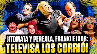 """Freddy y GermánOrtega """"Mascabrothers""""y SúperEscorpión al volante"""