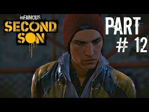 Let's Play Infamous: Second Son - Part 12 (Cole's Legacy Finale / Paper Trail) Gameplay
