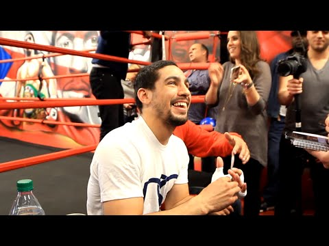"Danny Garcia ""Marcos Maidana at 147 is a good fight. Styles make fights, my style kicks their butts"""