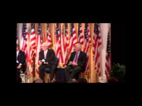 KRLA program on President Obama's First 100 Days, at the Nixon Library