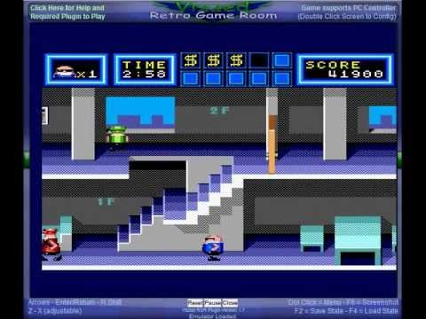 Bonanza Bros. - Master System gameplay - Bonanza Bros - User video