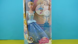 NEW Disney Princess Doll Twirling Skirt Cinderella Toy Review.