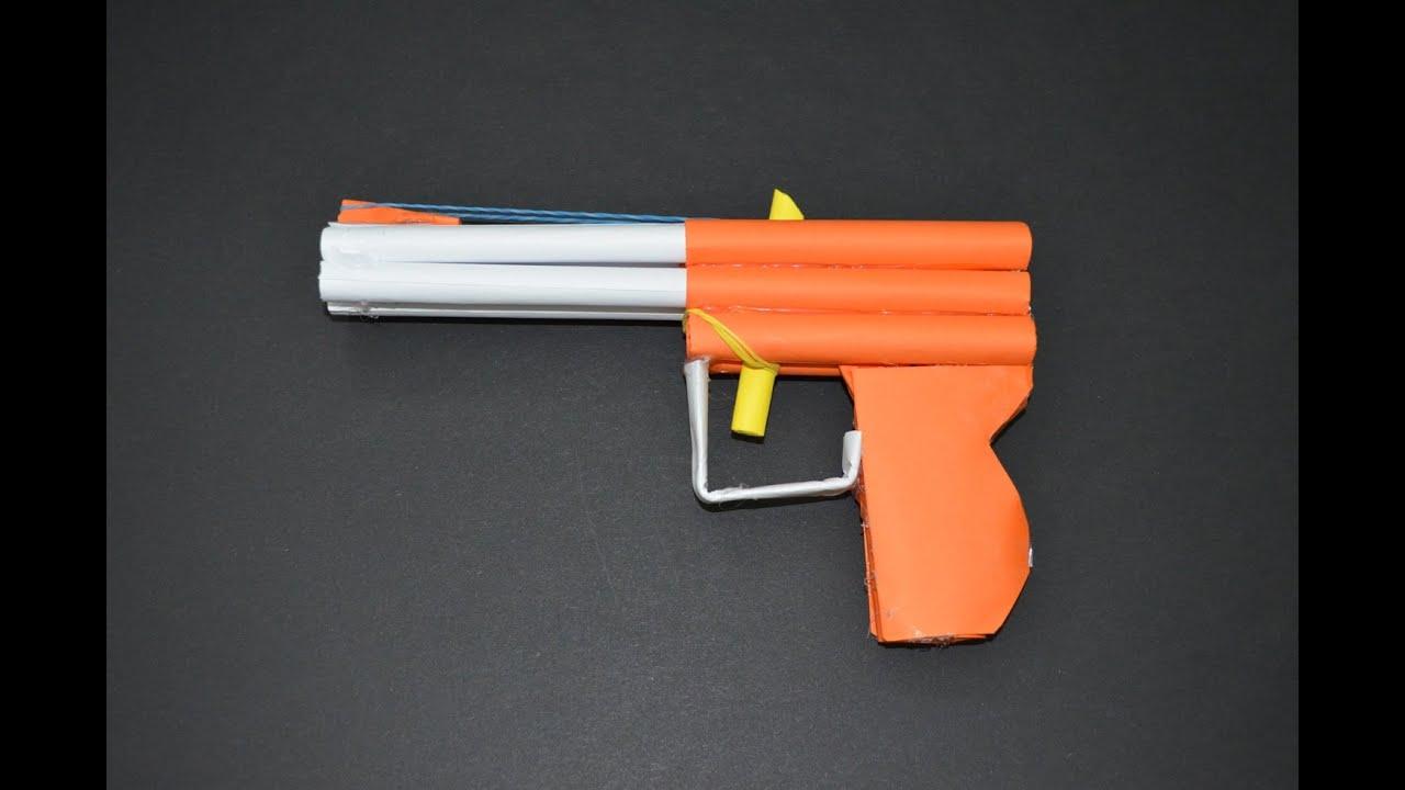 Как сделать пулемет из бумаги Pepakura 40