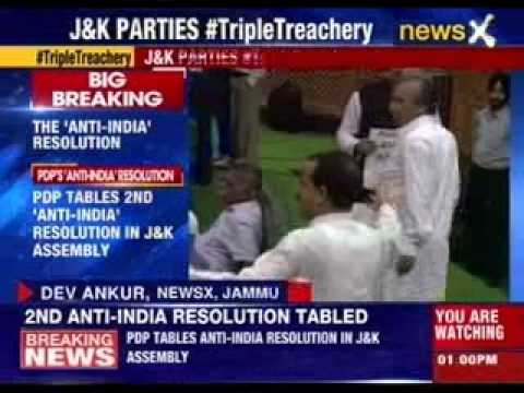 PDP tables second Anti-India resolution in Jammu and Kashmir assembly
