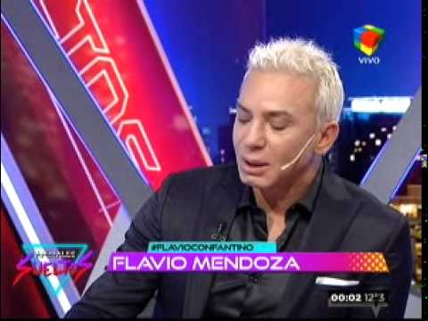 Flavio Mendoza se quebró al aire al hablar de Bernal y Diwan