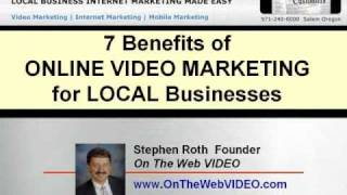 7 Benefits of Online Video Marketing for Local Businesses