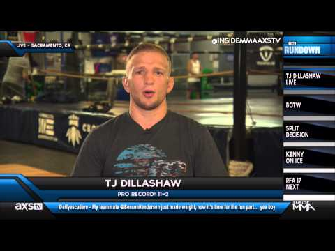 TJ Dillashaw Talks Renan Barao Rematch on Inside MMA