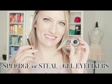 SPLURGE or STEAL: Gel Eyeliners!!