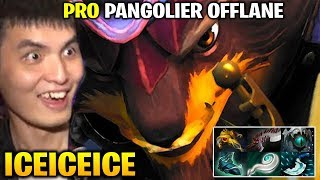 Iceiceice Best PRO Pangolier Offlane in Dota 2 7.19d