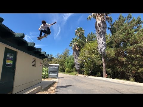 DARRIUS HUTTON SKATING OFF ROOFS AND MUCH MORE !!! - NKA VIDS -