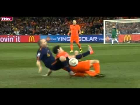 2010 World Cup's Most Shocking Moments #3 - Anti-Football Final