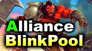 ALLIANCE vs BlinkPool - Game of Throw - EU Quals TI8 DOTA 2