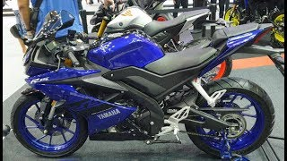 New Yamaha YZF-R15 | 2018 | Walkaround at TIME 2018
