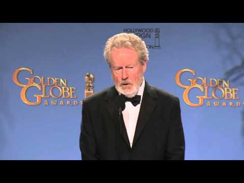 Ridley Scott: Golden Globe Awards Backstage Interview (2016)