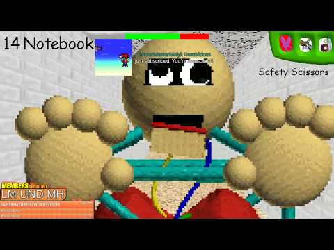 BALDI'S BASICS IN EDUCATION AND LEARNING NEW UPDATE [🔴LIVE]