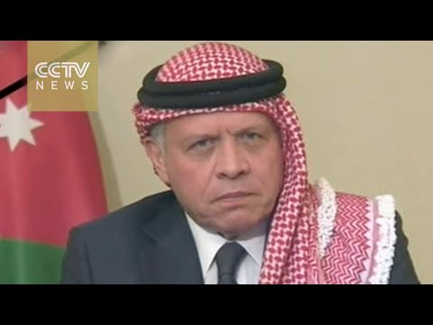 Jordan's King Abdullah pays tribute to slain pilot