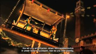 Assassin's Creed Brotherhood - Dev Diary 4 German Deutsch HD