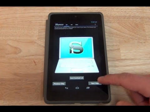 Como pasar música desde mi PC a mi Dispositivo Android App ISyncr