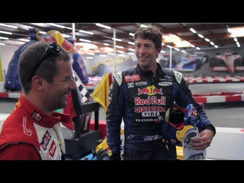 Summer X-Games 2012 - Travis Pastrana meets Sebastien Loeb - Rally Cross