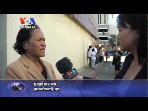 After Shooting, Long Beach Residents Protest Police Violence (Cambodia news in Khmer)