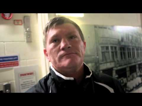 RICKY HATTON TALKS AMIR KHAN'S WIN OVER COLLAZO, MAYWEATHER, FURY v CHISORA & RECENT U.S VISA ISSUES