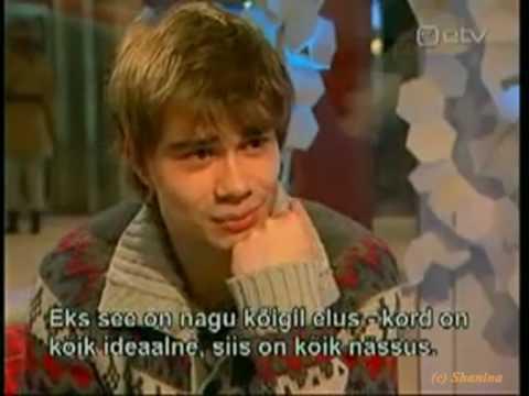 Alexander Rybak - interview in Tallinn 08.03.2010 (русские титры)