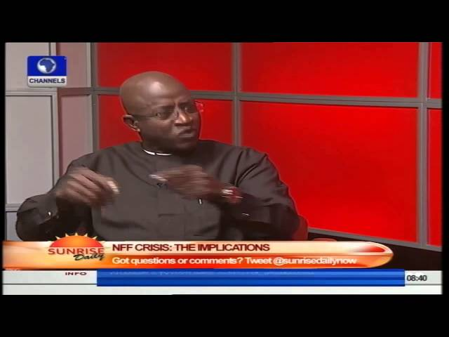 NFF Crisis: Odegbami Says NFF Statutes Are Faulty Having Been Altered PT1