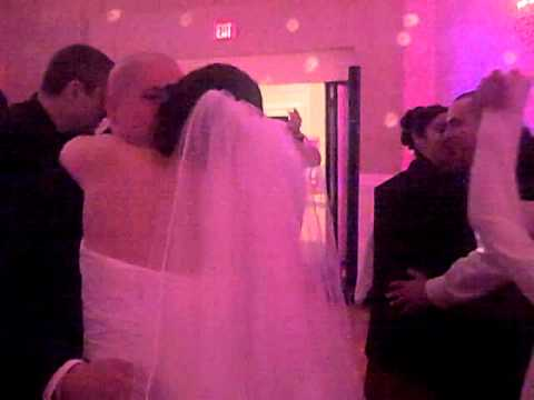 ALPINE COUNTRY CLUB RHODE ISLAND WEDDING DJ RA MU AND THE CREW SLOW DANCES