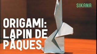 Origami : Lapin De Pques - Hd