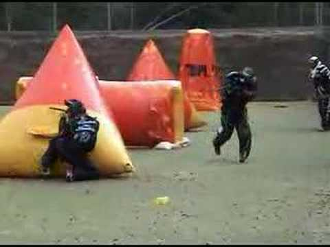 2nd German Paintball Bundesliga Day 1 2k7