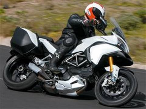 2010 Ducati Multistrada 1200 road test Video