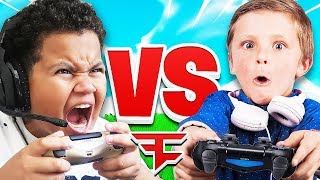 FaZe Kaylen VS 8 YEAR OLD PRO!! (FaZe Clan Vs Squeaker Nation) Fortnite 1v1