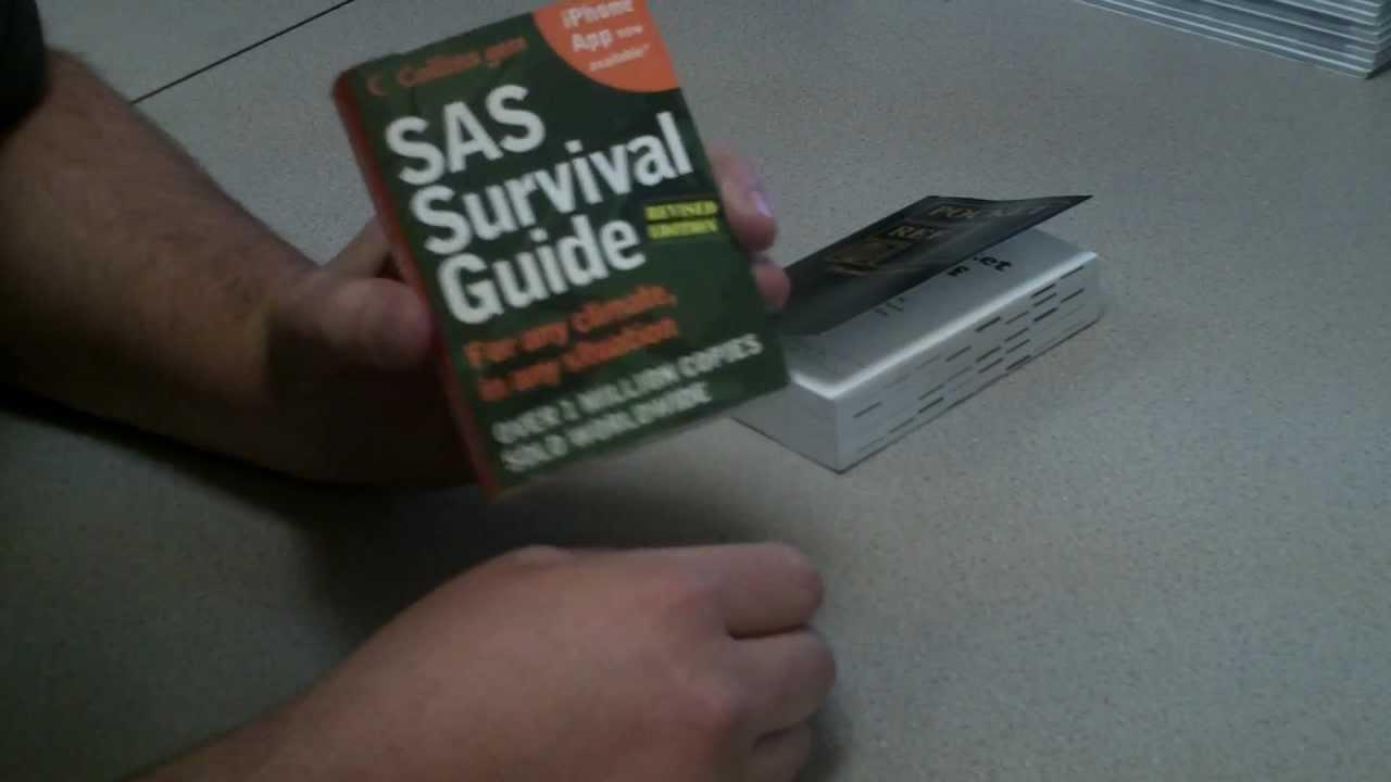 Sas survival handbook pocket size guide