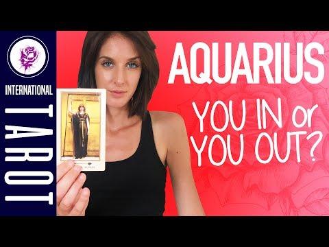 Aquarius June 2017 Love Tarot Card Reading