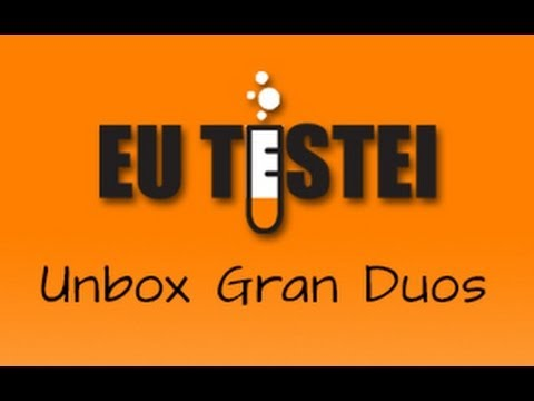 Smartphone Samsung Galaxy Gran Duos I9082 - Unboxing Brasil