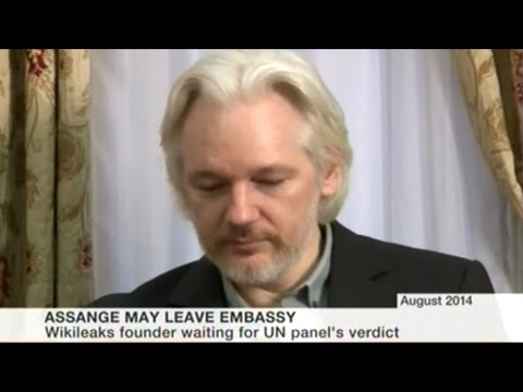 """Julian Assange """"I Will Accept Arrest By British Police On Friday If United Nations Votes Against Me"""""""
