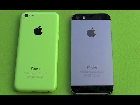 iPhone 5s vs iPhone 5c - Apple Smartphone Vergleich