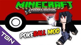 Minecraft Pocket Edition 0.12.1-PokeBall V2 Mod